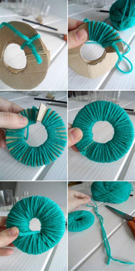 como hago cadenas de papel crepe aunque existen muchos m 233 todos para hacer pompones de lana