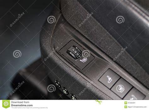 heated seat rotary switch stock image image 31259491