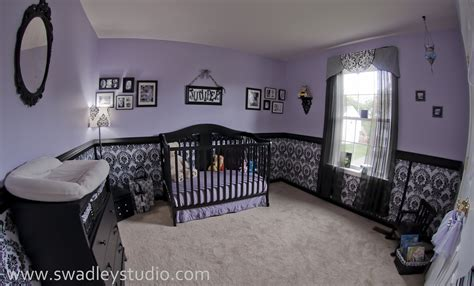 purple nursery juniper s nurseryfeaturing wallcovering by blue sphere painting baby