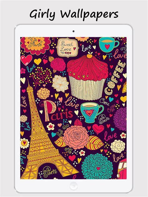 girly home screen wallpaper app shopper girly walls cute girl image for home lock
