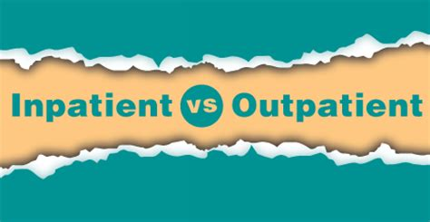 Inpatient Vs Residential Detox by Do You Need Inpatient Or Outpatient Rehab