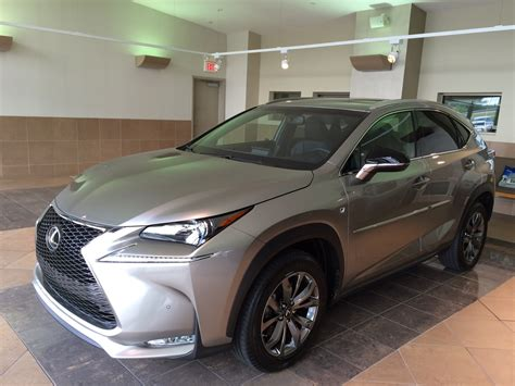 lexus atomic silver nx getting my nx f sport in atomic silver today club lexus