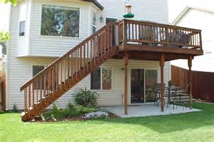 two story deck 2 story deck patio google search deck pinterest