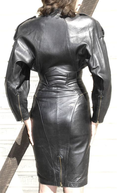 Leather Ebay by Ebay Leather Leather Biker Dress Sells For 285