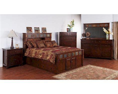 santa bedroom furniture storage bedroom set santa fe by designs su 2322dc s set