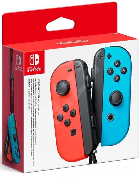 Original Nintendo Switch Con Controller Blue nintendo switch con controllers neon neon blue controller alzashop