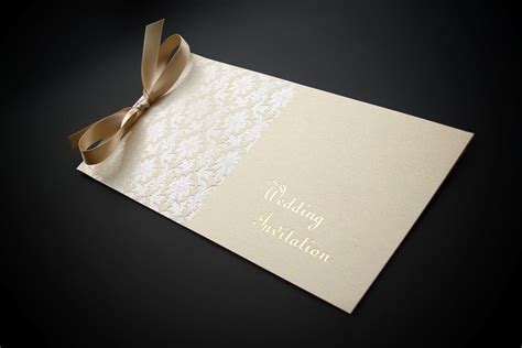 make cheque book style wedding invitations to make a memory baroque wedding stationery