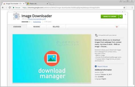 chrome image downloader remove the image downloader chrome adware extension