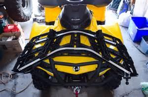 billavista can am outlander 1000xt front rear rack