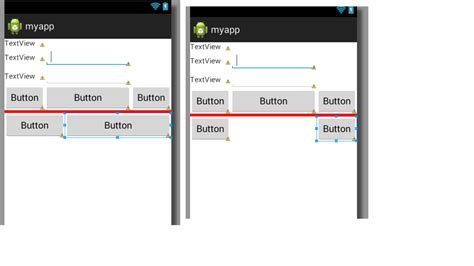 android layout weight stackoverflow android using layout weight in table layout stack overflow