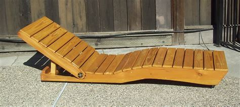 make all from wood outdoor chaise lounge made from pallet wood all