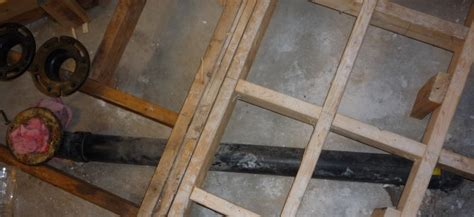 basement bathroom subfloor toilet flange and subfloor height connection in basement