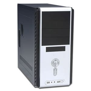 Casing Azzura Z3 Psu 450watt power up black corporate atx mid tower with front usb audio ports and 450 watt power
