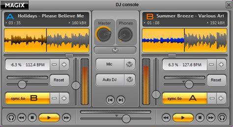 dj console software magix mp3 maker software informer screenshots