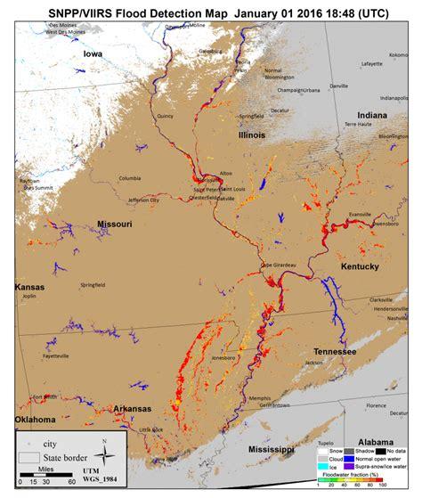 flood map usa the great flood of 2015 suomi npp national polar