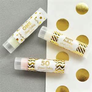 Unique Birthday Favors by 50th Birthday Favors Lip Balm Favors Unique