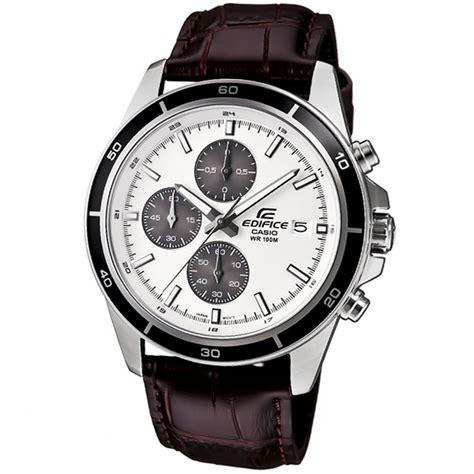 Jam Tangan Pria Casio Edifice Efb 301 White Silver Steel casio edifice chronograph mens efr 526l 7av efr 526l