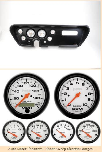 automotive service manuals 1966 pontiac gto instrument cluster classic dash 1966 pontiac gto lemans black 6 gauge panel with auto meter gauges hotrod hotline