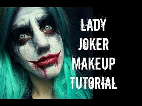 halloween makeup tutorials 2015 batman vs joker youtube lady joker makeup tutorial youtube