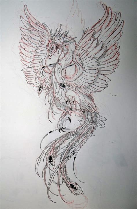 phoenix tattoo design best 25 design ideas on
