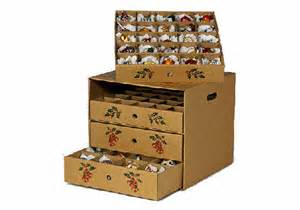 4 drawer christmas ornament storage box corrugated