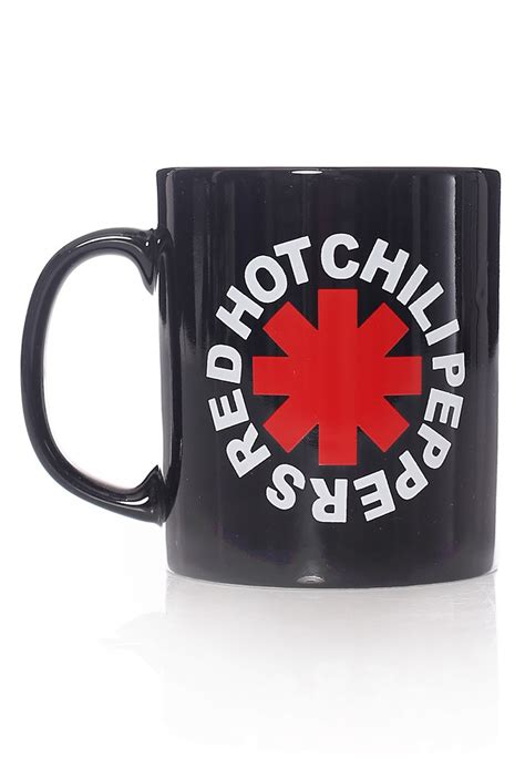 red hot chili peppers asterisk mug official