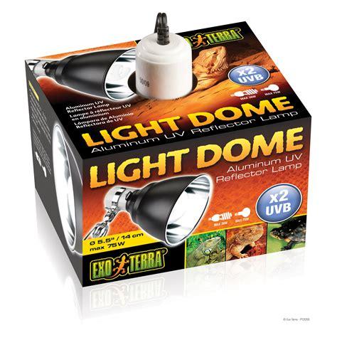 Light Dome Exoterra exo terra light dome aluminum uv reflector l