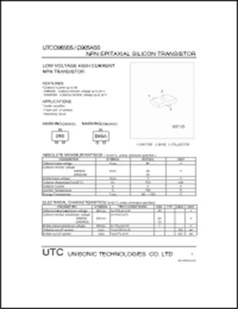 transistor d965 datasheet utc d965 series datasheets d965ss utcd965ss utcd965ass d965ass datasheet