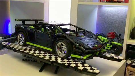 Lego Technic Lamborghini by Lego Technic Lamborghini Gallardo Blacklime Edition