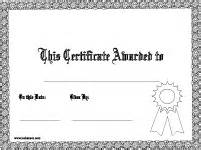 Certificate Template Pages by Printable Awards Certificates Diplomas