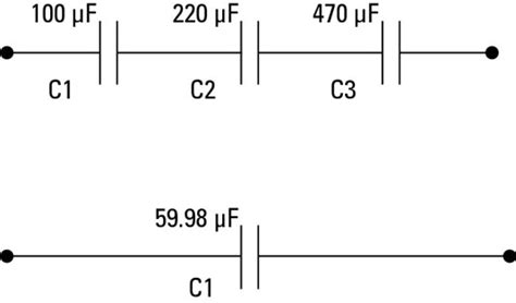 do you add capacitors in series electronics components capacitors in parallel and series dummies