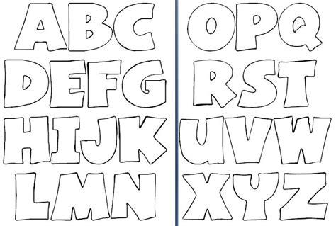 moldes de letras grandes para imprimir molde de letras para imprimir y recortar imagui diy