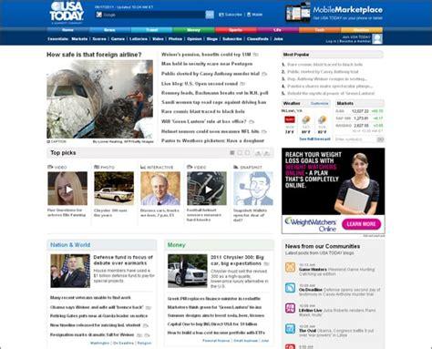 design news online 30 remarkable newspaper style websites