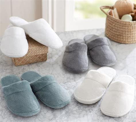 pottery barn slippers luxe cozy slippers pottery barn