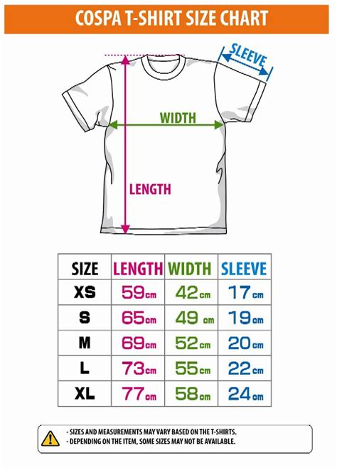 Tshirt Size S by T Shirt Size Chart Europe Sweater Jacket