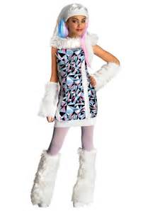 halloween monster high costumes monster high abbey bominable girls costume kids costumes