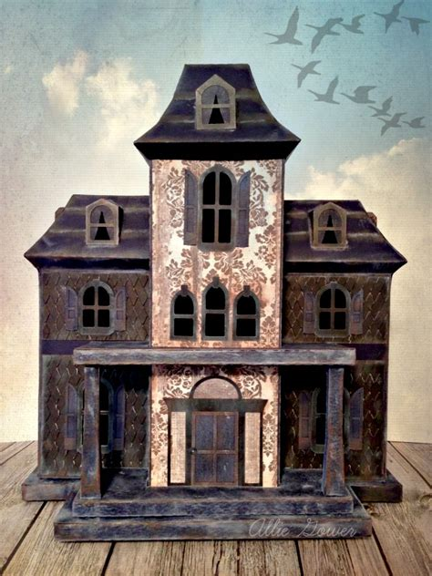 Diy Haunted House by Diy Haunted House A Spooktacular Creation From Cardstock