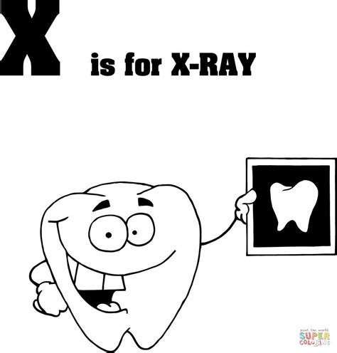 printable x rays x ray coloring page az coloring pages