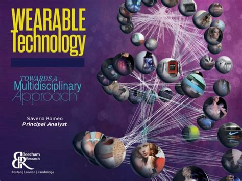 wearable technology research paper wearable technology towards a multidisciplinary approach