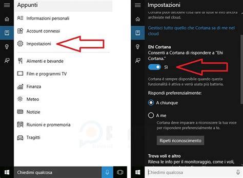 Window Si Come Usare E Personalizzare Cortana Su Windows 10