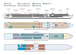 Ship Floor Plans by Viking Legend Cruise Ship Deluxe River Ship