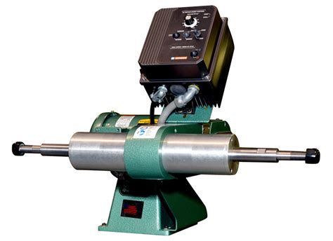 variable speed bench buffer buff and polish with the same variable speed polishing lathe