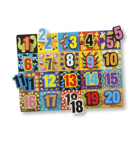 Chunky Puzzle Numbers Puzzle Chunky Angka jumbo numbers chunky puzzle doug