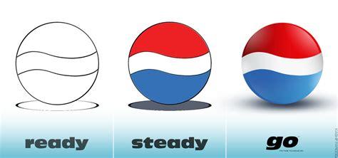 tutorial logo pepsi ready steady go pepsi logo by emonzter on deviantart
