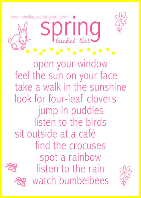Leaf Wall Stickers free printable spring activities bucket list
