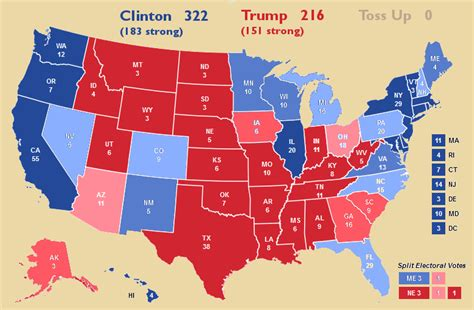 2016 electoral map predictions 1 2016 election prediction electoral map autos post