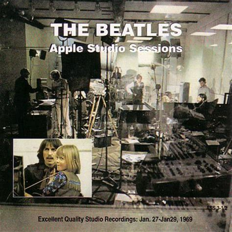 Back In Studio by Beatles Apple Studio Sessions 27 29 Jan 1969 2cd