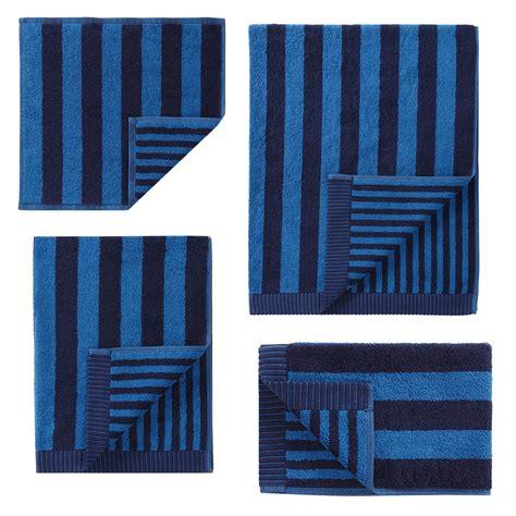 navy blue towels bathroom marimekko kaski raitaa navy blue bath towels marimekko