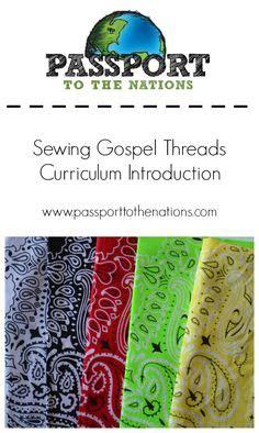 gospel threads painting back yard bible club idea