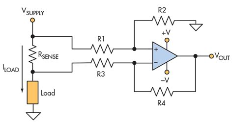 how to calculate current sensing resistor calculating accuracy in high side current sense lifiers electronic design